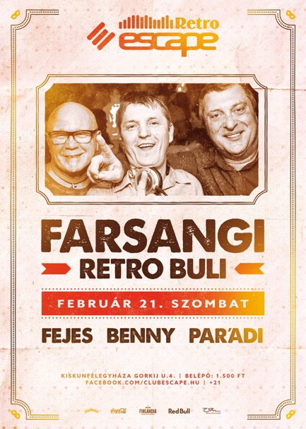 Facebook ÚJ2 2015 01 21 Farsangi Retro Buli Escape